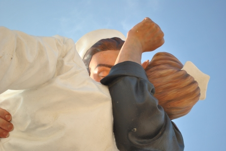 """UNCONDITIONAL SURRENDER"" CLOSE UP"