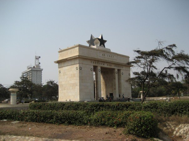 GHANAIAN ARCHWAY