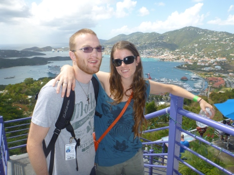 VIEW FROM THE TOP - ST. THOMAS