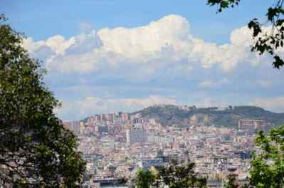 BARCELONA IN THE DISTANCE