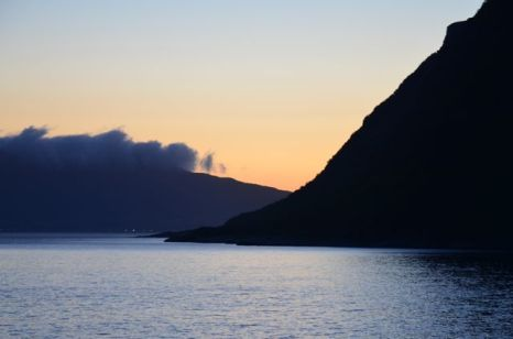 SUN NEVER SETS IN THE FJORDS