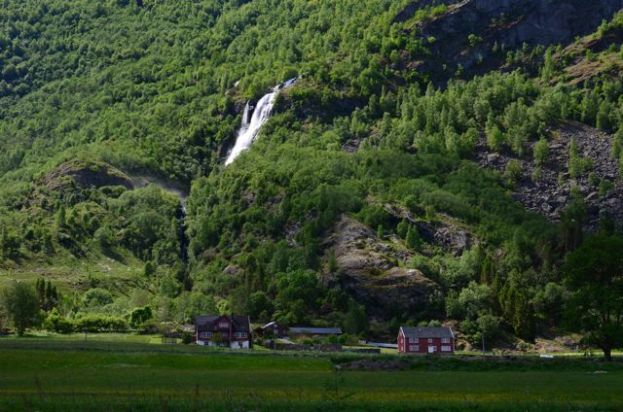 WATERFALL ABOVE THE FARM