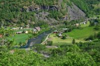VALLEY IN FLAM
