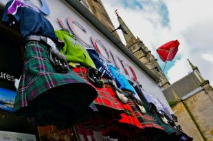 Kilts in the Wind