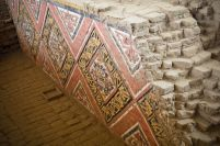 FADED PAINTINGS OF HUACA DE LA LUNA
