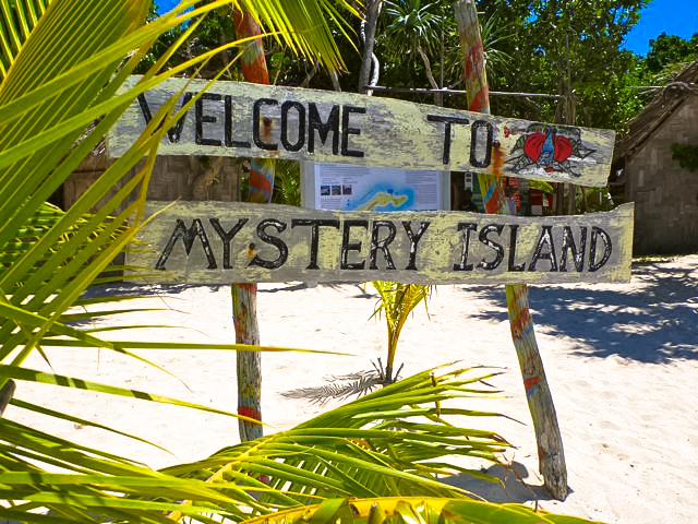 MYSTERY ISLAND WELCOME