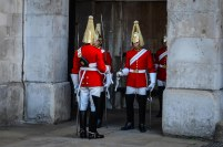 CHANGING OF HORSE GUARD