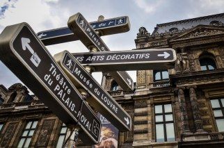 DIRECTIONS FROM LOUVRE