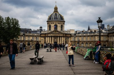 DOWN THE PONT DES ARTS