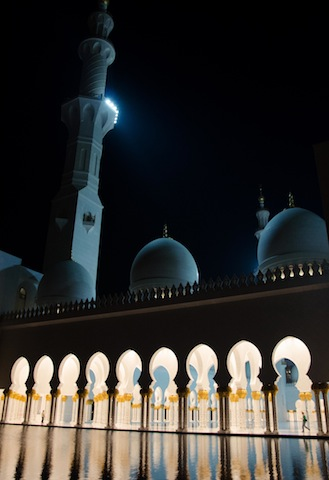 NIGHTTIME GRAND MOSQUE 4