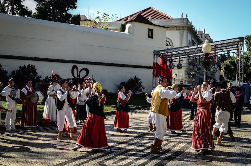 FUNCHAL TRADITIONAL DANCING
