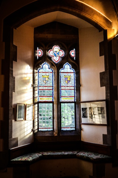 STAINED GLASS IN THE PALACE