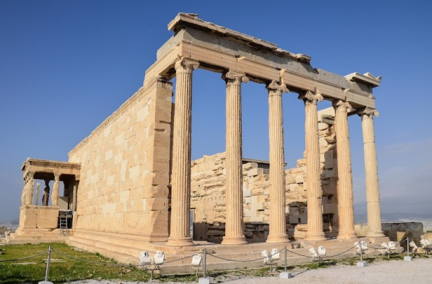 SIDE OF THE ERECHTHEION