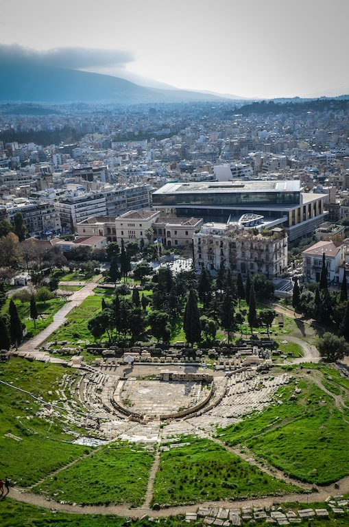 THEATER AND ATHENS