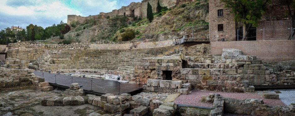 ROMAN THEATER AT MALAGA