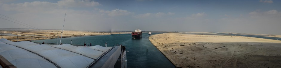 LOOKING BACK AT THE SUEZ