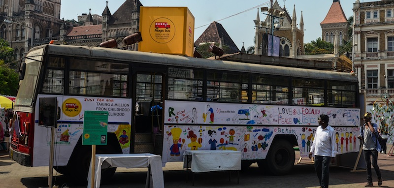MAGIC BUS AT KALA GHODA