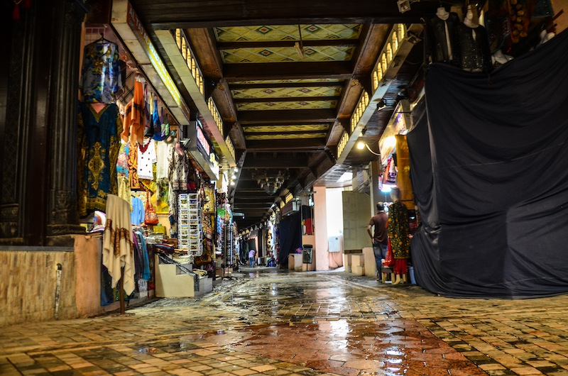 MUTRAH SOUQ DURING OFF HOURS