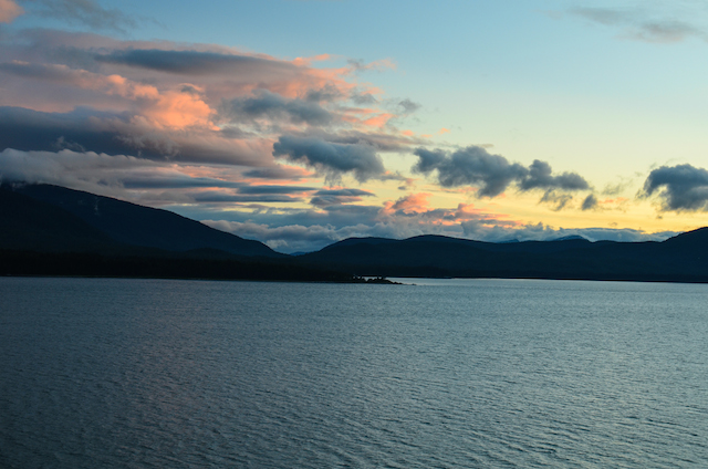 JUNEAU SUNSET PORT