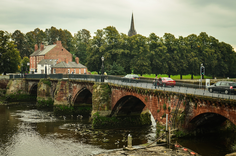 BRIDGE ACROSS THE DEE