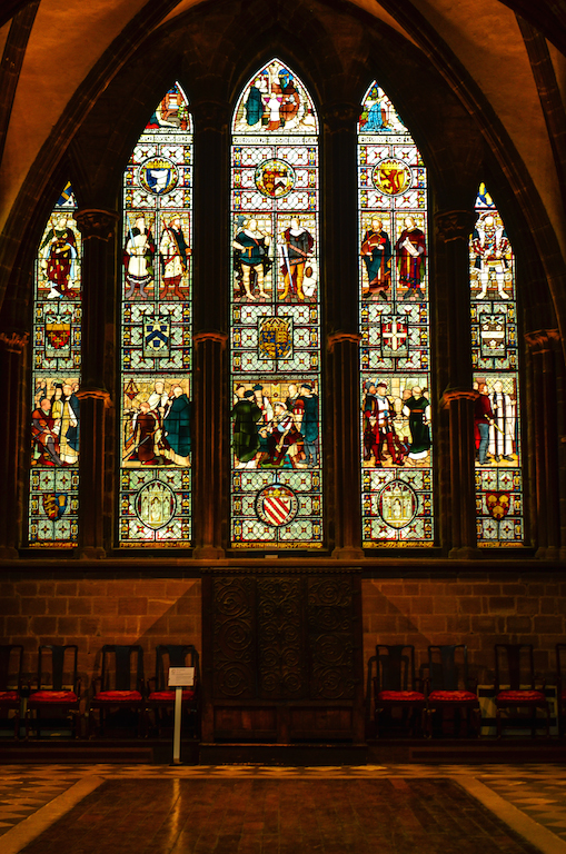 THE CATHEDRAL'S WINDOWS