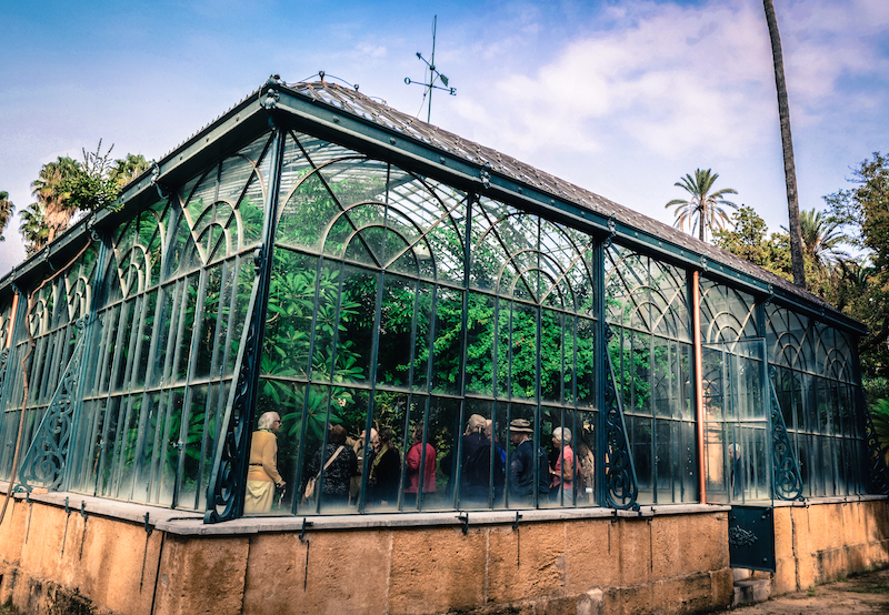 BOTANICAL GARDEN GREENHOUSE