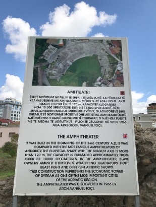 The Amphitheater's history