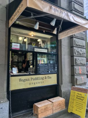 Vegan Pudding Shopfront